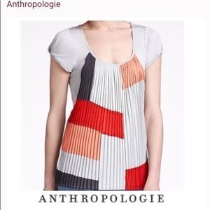 Anthro One September Top S Color Swatch Accordian